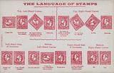 The language of stamps.