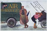 Advertisement for Conquereau, Duny et Cie car tyre puncture repairs