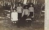 Children of King Victor Emmanuel III of Italy at San Rossore, Tuscany