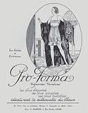 1920s advertisement for women's girdles