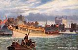 State Barge on the river Thames, time of Queen Elizabeth I
