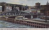 High Level and Swing Bridges, Newcastle-On-Tyne
