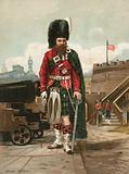 Soldier of the Black Watch (Royal Highlanders)