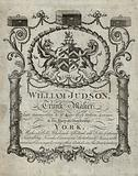 Advertisement for William Judson, trunk maker, York