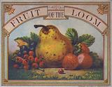 Advertisement for Fruit of the Loom clothing