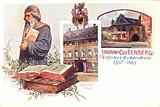 Johann Gutenberg, German inventor of the printing press