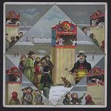 Punch and Judy Show in the Snow