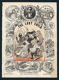 The Lost Child, comic song by Sam Cowell, Victorian sheet music cover