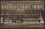 Shop front of W Parfrement & Sons, butchers, graziers and poulterers, Bognor Regis, Sussex