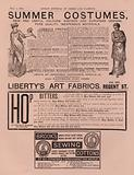 Advertisement for Liberty's Art Fabrics