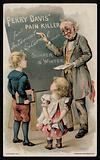 Perry Davis pain killer, advertisement mid 19th century