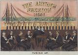 The Autumn Session 1890–1, Tuning Up, satire on late 19th century British politics