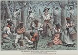 The Hawarden Wood Block Estate Company Limited, satire on William Ewart Gladstone's attitude to slavery