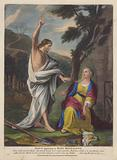 Jesus appearing to Mary Magdalene