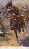 Royalist cavalry, Battle of Naseby, English Civil War, 1645