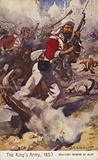 British soldiers of the 52nd Light Infantry, Siege of Delhi, Indian Mutiny, 1857