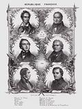 Leading members of the Provisional Government of the French Scond Republic established in February 1848