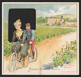 Advertisement for Chambolle-Musigny wines