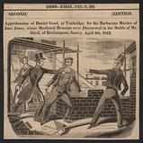 Apprehension of Daniel Good, at Tonbridge, for the barbarous murder of Jane Jones, whose mutilated remains were discovered in the stable of Mr Shiell, of Roehampton, Surey, 6 April 1842