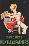 Advertisement fot Huntley & Palmers bicsuits