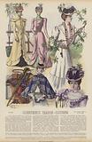 Illustration for Illustrirte Frauen-Zeitung