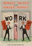 Advertisement for Monkey Brand and Powder Monkey soap