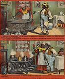 Woman cleaning Stove
