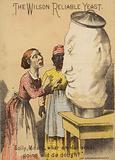 Two Women looking Shocked at Risen Dough