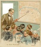 Children Being Taught in Classroom