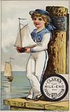 Sailor Boy With Yacht