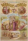 Centennial Of Barbours Thread, 1784 - 1884
