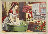 Lady Hand Washing