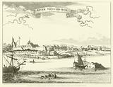 View of the City of New Amsterdam, now New York