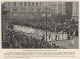 Women's suffrage parade, New York, USA, 4 May 1912