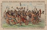 Native American scalp dance
