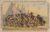 Native American buffalo dance