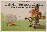 A Fourth of July celebration, trade card adverising Udell wood dishes