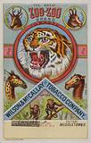 American trade card advertising Zoo-Zoo tobacco