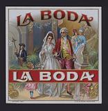 La Boda, cigar label