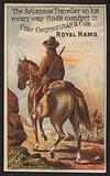 Advertisement for Charles Counselman & Co's Royal Hams