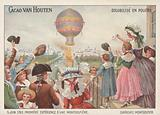 First flight of the Montgolfier Brothers' balloon, 5 June 1783