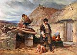An Irish Eviction, 1850