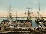 Whalers fitting out, New Bedford, Massachusetts
