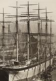 The Highfields, Salthouse Dock, Liverpool, June 1897; Melanope lying in outside berth