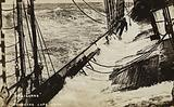 The sailing ship Craigerne rounding Cape Horn