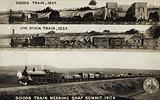 Goods Train, 1837; Live Stock Train, 1837; Goods Train nearing Shap Summit, 1904