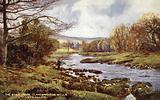 The River Irfon, Llangammarch Wells