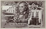 Sir Henry Irving, memorial card