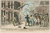 The destruction of the Elephant at Exeter Change, 1 March 1826