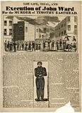 Execution of John Ward for the murder of Timothy Easthead